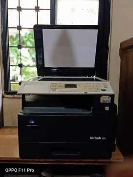 Xerox machine printer and scanner