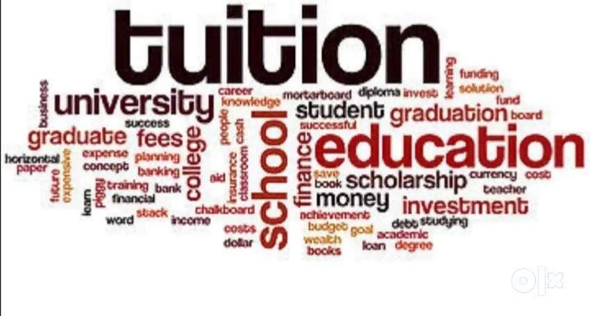 Tuition undertaken