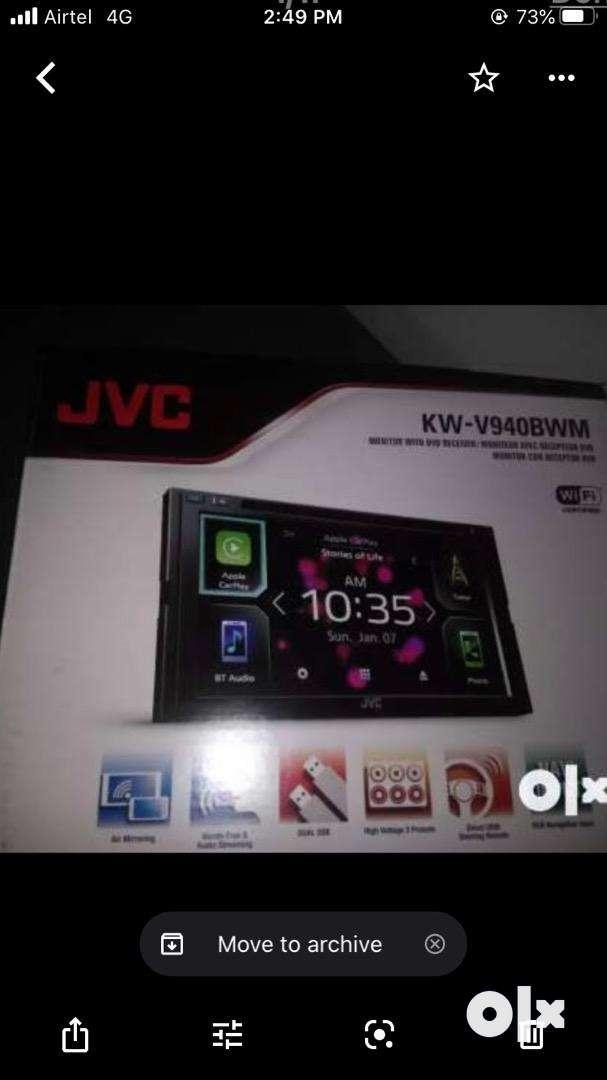 JVC KW-940BW DUBLEDIN PLAYEAR UNDER WARTY 7months use 0