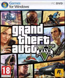 Gta 5 pc video game 500 rs negotiable