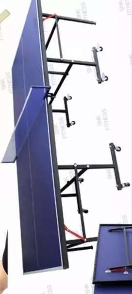 New foldable table tennis good condition size 9ft × 5ft standard size