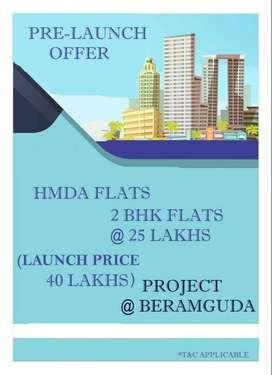 hmda gated community flats for sale at beeramguda