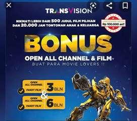 Hot Promo Trânsvision HD kota Pontianak Cicilan Kartu Kredit 0% Stahun