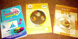 ICS all subject books for sale in half prise
