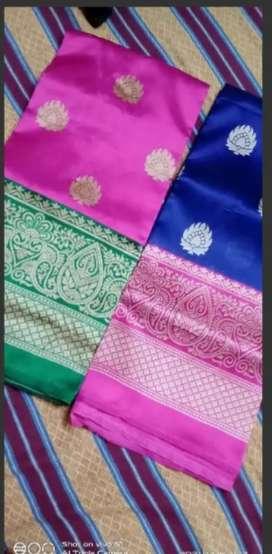 New art silk sarees