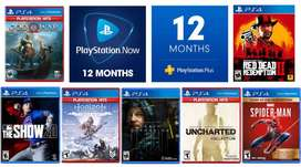 PLAY STATION GAMES- PS4/PS2-PS3