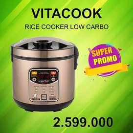 Vitacook Rice cooker untuk nasi rendah karbohidrat