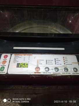 Whirlpool washing machine top load 7kg