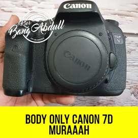 Canon 7D Body Only Muraaah