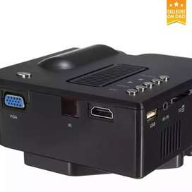 LOW PRICE HOME CINEMA HD PROJECTOR HDMI VGA USB AV SD TV AUX INPUT