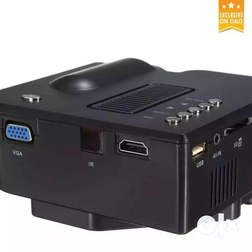 LOW PRICE HOME CINEMA HD PROJECTOR HDMI VGA USB AV SD TV AUX INPUT 0