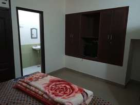 Fully furnished one room set at 7000