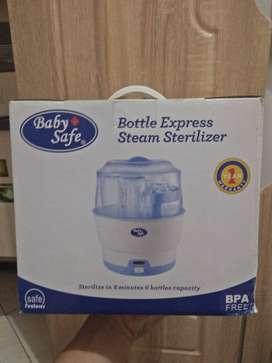 (NEW) bottle exspress steam sterilizer baby safe