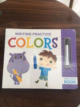Buku Import Writing Practice Colors