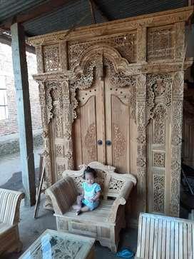 cuci gudang pintu gebyok gapuro jendela rumah masjid musholla peran