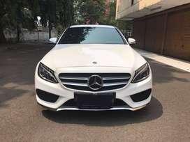 Mercedes Benz C200 AMG 2018 LOW Km