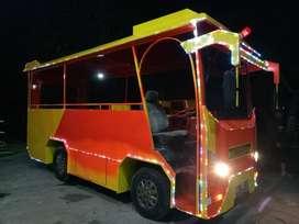 kereta wisata odong odong bis tayo siap pakai usaha L05