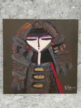 Lukisan Menong Redha Sorana
