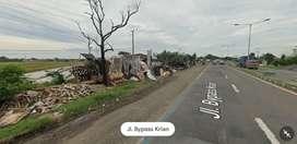 Lahan Industri Nol Jl.Raya Bypass Krian