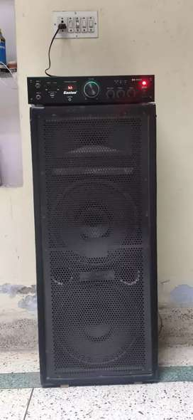 Speaker and machine in very good condition