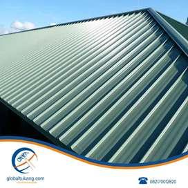 Membuat kanopi teras rumah dan rangka atap dari baja ringan