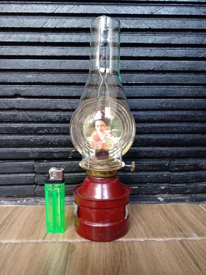 Lampu minyak jadul kaleng