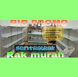 Rak supermarket jual baru gondola minimarket