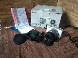 Kamera Mirrorless M10 15-45mm Siap pakai