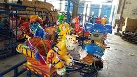 Pabrik wahana siap pakai odong odong kereta panggung RAA