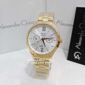 Jam Tangan Alexandre Christie AC 2796 Gold