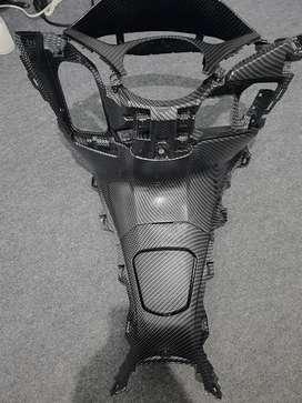 PCX 150 accesories carbon