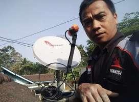 parabola gambar ciamik Surabaya gratis iuran