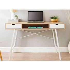 Contemporary Modern Computer Desk with Storage Home Office Study Table