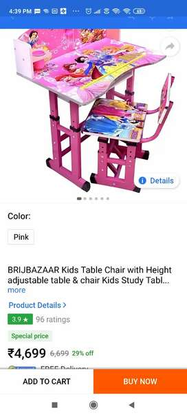 Kids table chair for sale