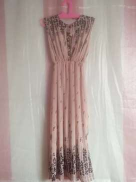 long dress no lengan