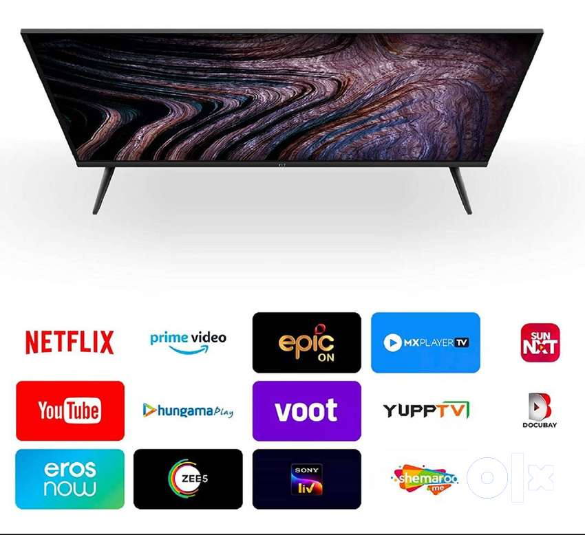 OnePlus Y Series 80 cm (32 inches) HD LED Smart Android TV 32Y1 (Black 0