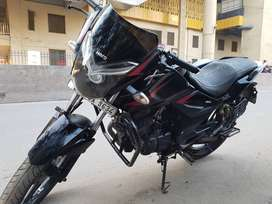 Well maintained with projector head light and Exide new battery l