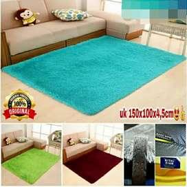Karpet Bulu Empuk busa Royal uk 150x100x4.5cm NYAMAN [MURAH]