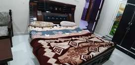 Duble bed with box