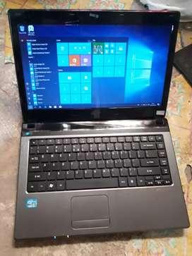 Laptop acer cire i5 ram4gb