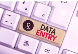 Data entry/Typing work