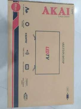 Akai 24 inch LED TV full HD 3 year warranty only 9990 fix price