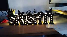 Name light lamp SRISHTI