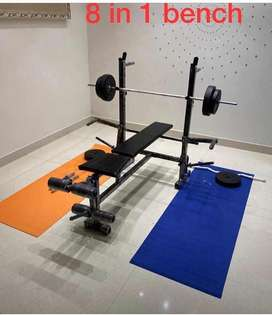 8 in 1 homegym for exercise