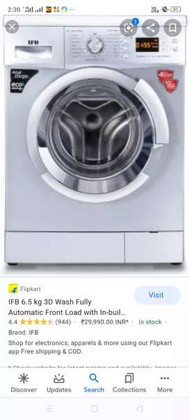IFB Washing machines 6.5kg front loaded