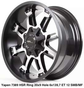Velg racing mobil pajero,fortuner,hiluk ring 20