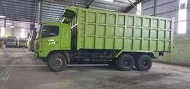 Dump truck Hino lohan tahun 2013