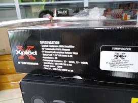 "Accesories Subwoofer kolong xpload 10""suara mantap"