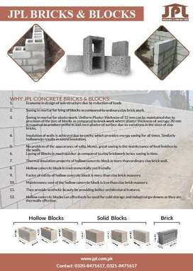 CONCRETE BLOCKS AND PAVERS