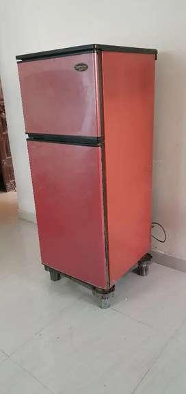 Double door fridge with stand